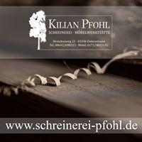 Schreinerei - Kilian Pfohl