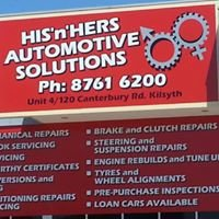 His n Hers Automotive Solutions