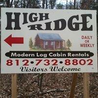 High Ridge Log Cabin Rentals
