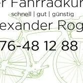 Alexander Roger Der Fahrradkurier