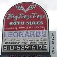 Big Boys Toys Auto Sales & Leonard's Towing