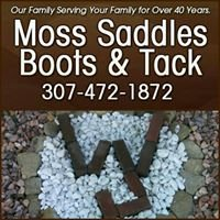 Moss Saddles Boots and Tack