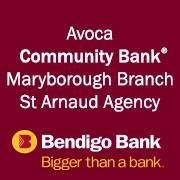 Avoca Community Bank & Maryborough Branches & St Arnaud Agency