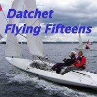 Flying Fifteen Fleet Racing with Datchet Man
