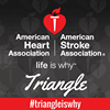 American Heart Association - Triangle