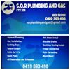 S.O.R plumbing & gas pty ltd