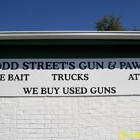 "Todd Street's Gun and Pawn "" Take it to the Street's"""