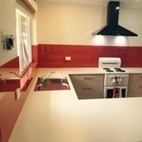 Integral Glass Splashbacks