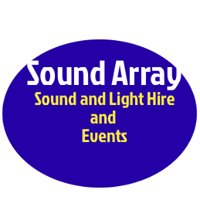 Sound Array P.A. and lighting hire company