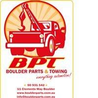 Boulder Parts & Towing