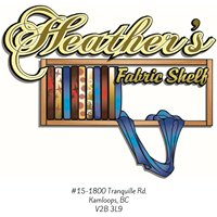 Heather's Fabric Shelf