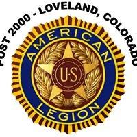 The American Legion, Post 2000, Loveland, CO.