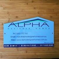Alpha Designer Homes