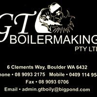 GT Boilermaking Pty Ltd