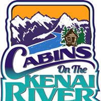 Cabins on the Kenai River in Alaska