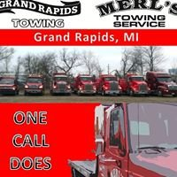 Merls Towing Service & Grand Rapids Towing