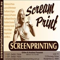 Scream Print Screenprinting