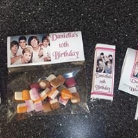 Personalised Party Item's