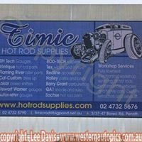 Timic Hot Rod Supplies