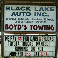 Black Lake Auto Wrecking