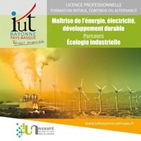 Licence Pro Ecologie Industrielle