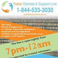 Yukon Distress & Support Line
