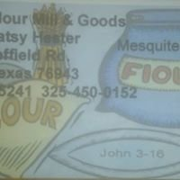 "Ozona Flour Mill & Goods ""The Home of West Texas Mesquite Bean Flour"""
