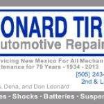 Leonard Tire & Automotive Repair Inc.