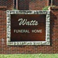 Watts Funeral Home Madill-Kingston