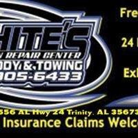 Whites Autobody & Towing-
