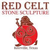 Red Celt Stone Sculpture