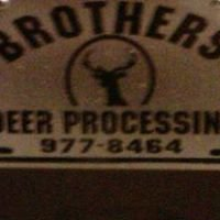 Brothers Big Game Processing