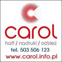CAROL, haft komputerowy, nadruki, odzież