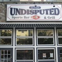 Undisputed Sports Bar and Grill