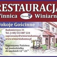 Winnica , Winiarnia Hanna