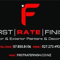 First Rate Finish Painting & Decorating