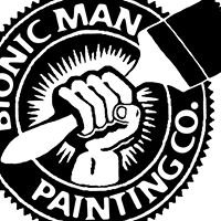 Bionic Man Painting