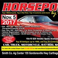 Horsepower by the River Car Show & Swapmeet 2012-2017