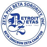 Zeta Phi Beta Sorority - Detroit Graduate Chapter (Beta Omicron Zeta)