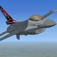 The Official FSX RNLAF F-16 Solo Demo Team
