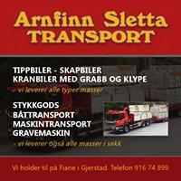 Arnfinn Sletta Transport
