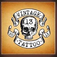 Vintage 13 Tattoo