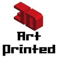 3D Art Printed