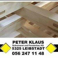 Peter Klaus Schreinerei & Fensterbau AG, Leibstadt