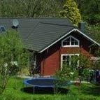 Ferienwohnungen am Elbdeich im Holzhaus