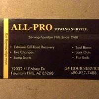 All Pro Towing