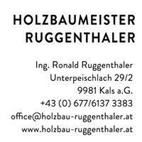 Holzbaumeister Ruggenthaler