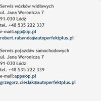 Serwis wózków widłowych i serwis samochodowy w Łodzi