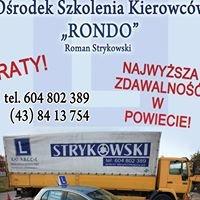 """Ośrodek Szkolenia Kierowców """"RONDO"""" Roman Strykowski"""