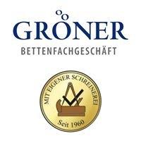 Bettenfachgeschäft und Möbelschreinerei Gröner GmbH